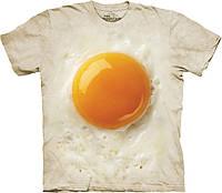 3D футболка The Mountain -  Fried Egg