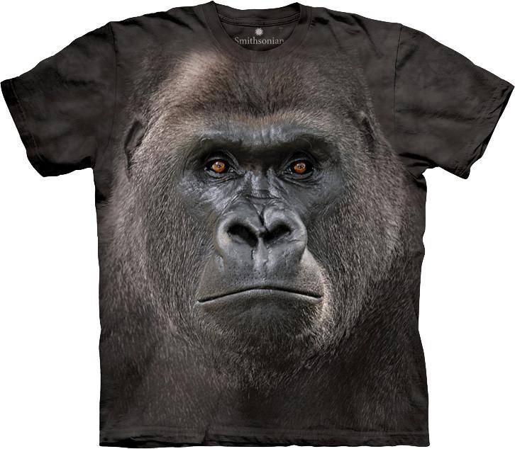 3D футболка The Mountain -  Big Face Lowland Gorilla