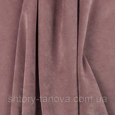 Велюр тёмно-розовый
