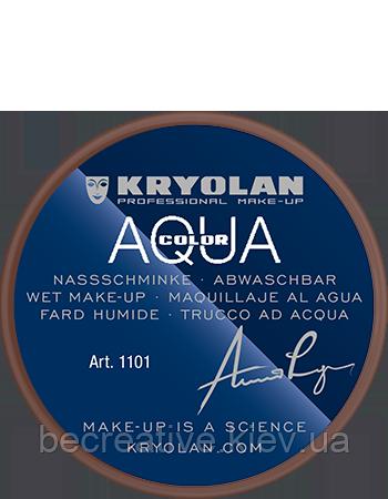 Коричневый аквагрим AQUACOLOR 8 мл (оттенок NG 1)