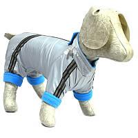Комбинезон для собак Флис серый