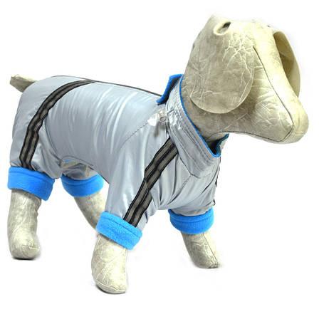 Комбинезон для собак Флис серый, фото 2