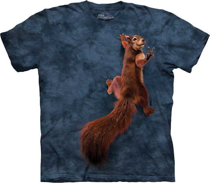 3D футболка The Mountain -  Peace Squirrel