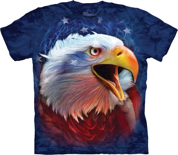 3D футболка The Mountain -  Revolution Eagle