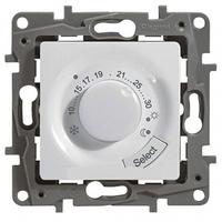 Термостат для теплого пола белый LEGRAND ETIKA 672230