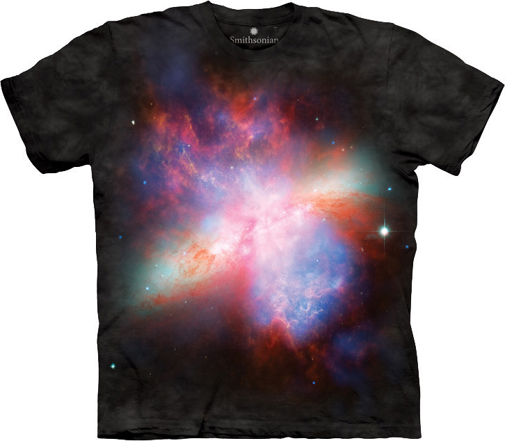 3D футболка The Mountain -  Starburst Galaxy Messier 82