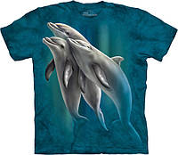 3D футболка The Mountain -  Three Dolphins