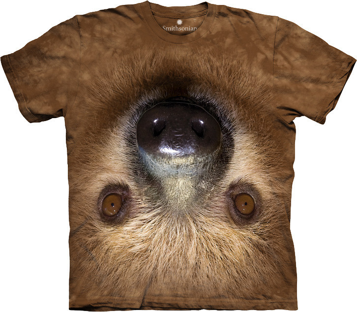3D футболка The Mountain -  Upside Down Sloth