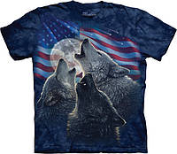 3D футболка The Mountain -  Wolf Trinity America