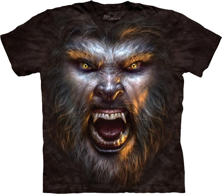 3D футболка The Mountain -  Werewolf Face