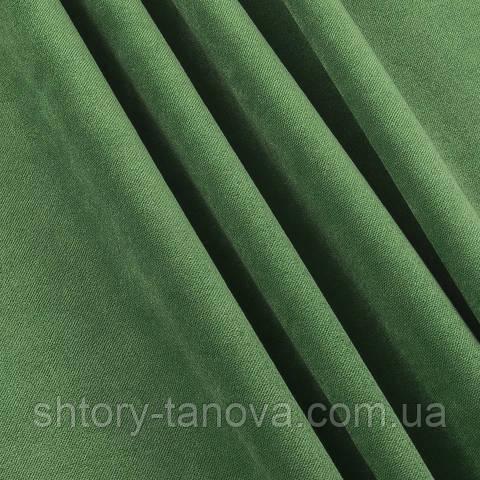 Велюр зелёная трава