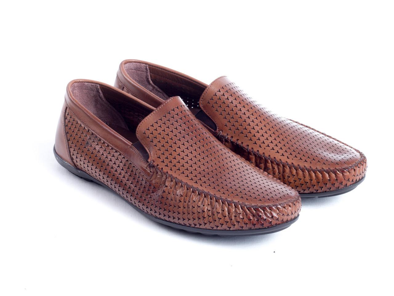 Мокасины Etor 10431-8934-1 41 коричневые