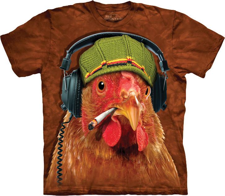 3D футболка The Mountain -  DJ Fried Chicken