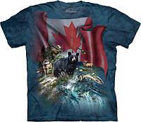 3D футболка The Mountain -  Canada The Beautiful