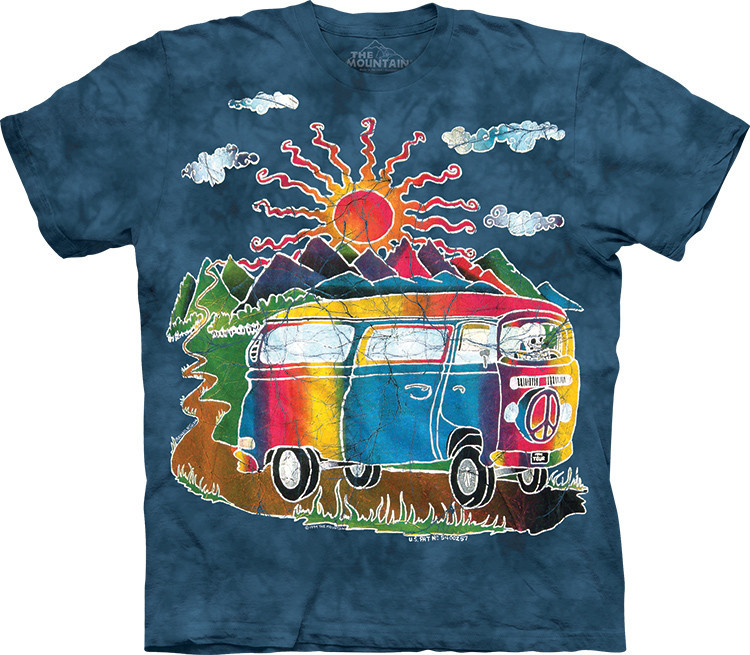 Футболка The Mountain - Batik Tour Bus