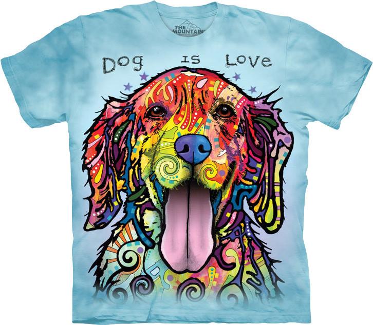 Футболка The Mountain - Dog Is Love