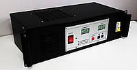 """Зарядное устройство УЗПС 60-15 (12-60В/15А) для гелевых аккумуляторов, в корпусе 19""""3U, фото 1"""