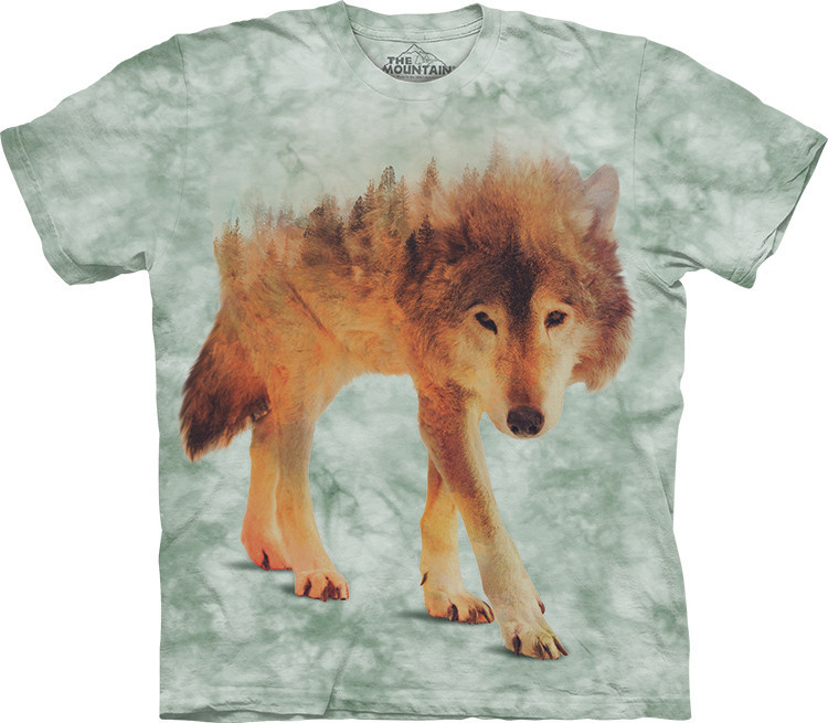 Футболка The Mountain - Forest Wolf