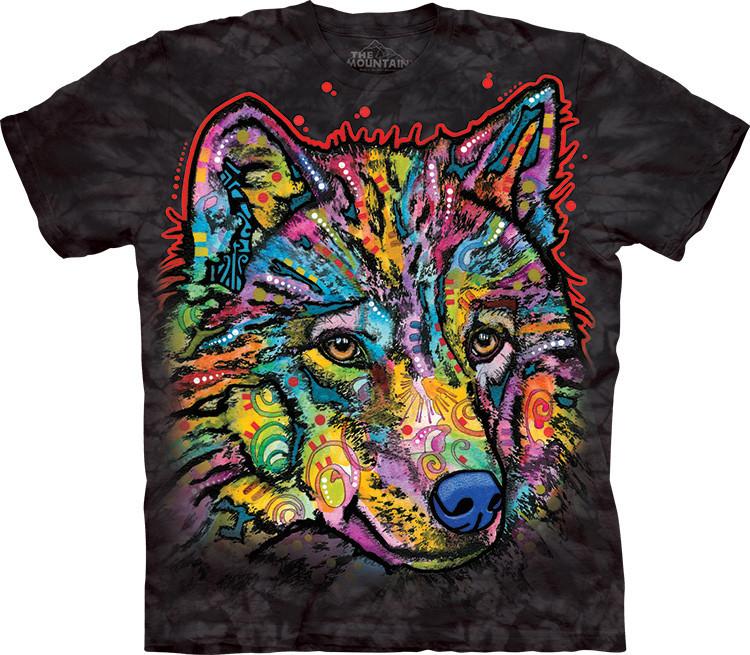 Футболка The Mountain - Happy Wolf