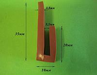 П-образный силиконовый уплотнитель, фото 1