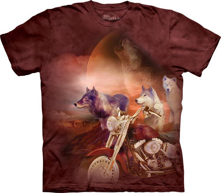 Футболка The Mountain - Motorcycle Вовчої Зграї