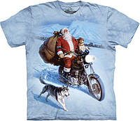 Футболка The Mountain - Santa Biker