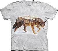 Футболка The Mountain - Snow Wolf