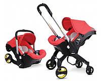 Детская коляска-автокресло FooFoo Красная, фото 1