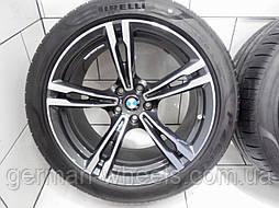 19'' оригинальные разноширокие колеса диски на BMW 5M F90 705M style