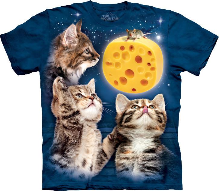 Футболка The Mountain - Three Kitten Cheese Moon