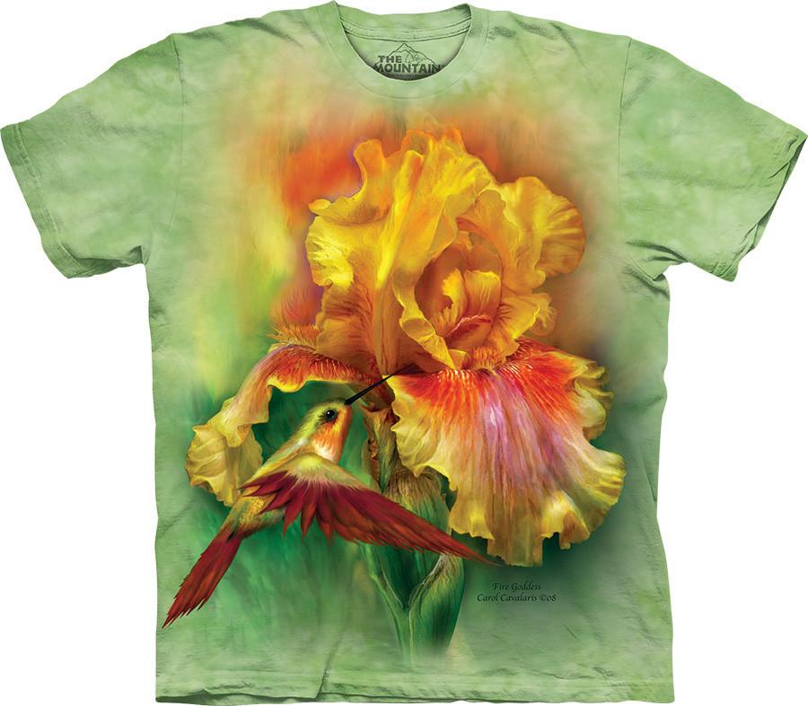 3D футболка The Mountain -  Fire Goddess