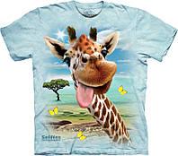 3D футболка The Mountain -  Giraffe Selfie