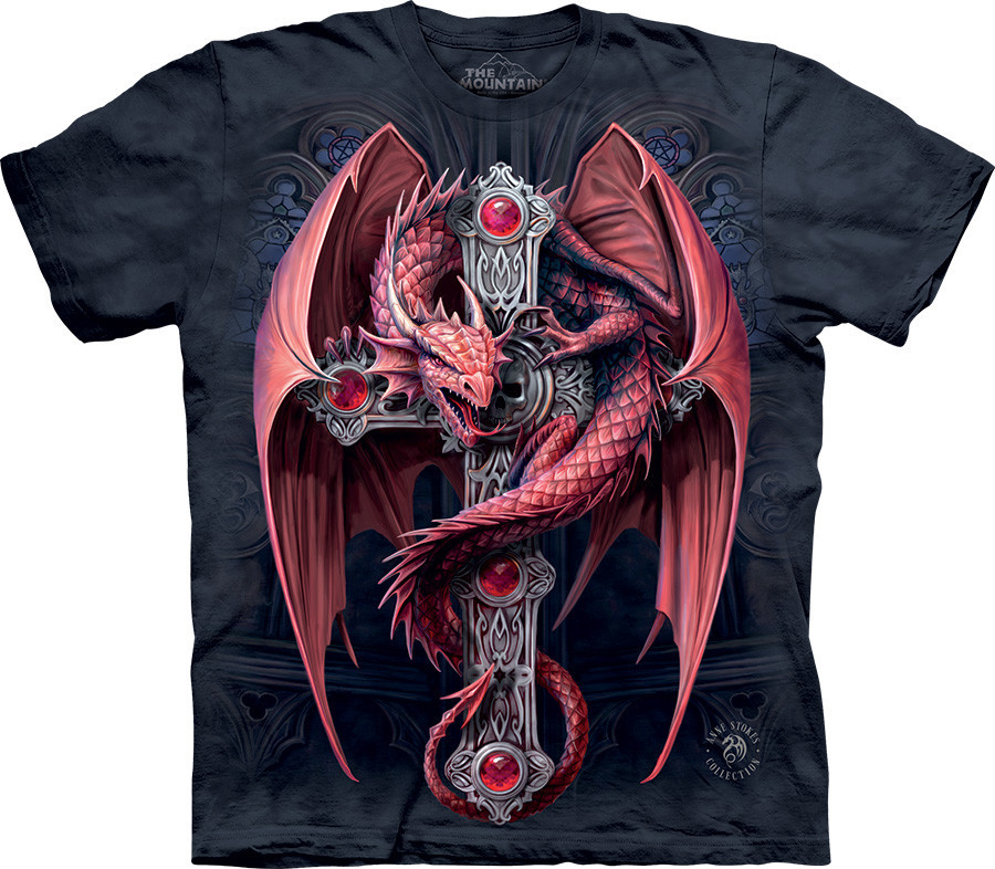 3D футболка The Mountain -  Gothic Guardian