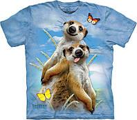 3D футболка The Mountain -  Meerkat Selfie
