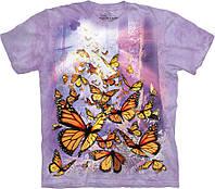 3D футболка The Mountain -  Monarch Butterflies
