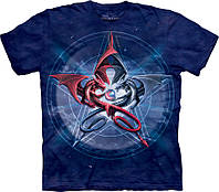 3D футболка The Mountain -  Pentagram Dragons