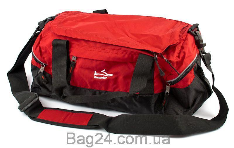 Сумка спортивно-дорожная ONEPOLAR (ВАНПОЛАР) W2023-red, Красный