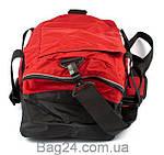 Сумка спортивно-дорожная ONEPOLAR (ВАНПОЛАР) W2023-red, Красный, фото 3