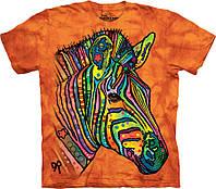 3D футболка The Mountain -  Russo Zebra