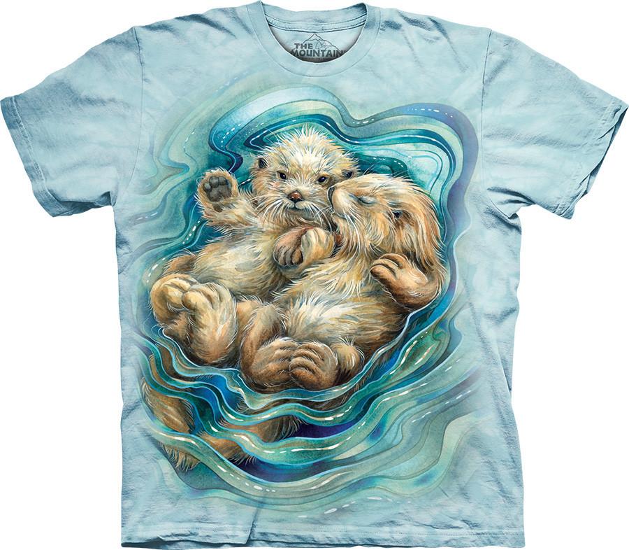 3D футболка The Mountain -  A Love Like No Otter