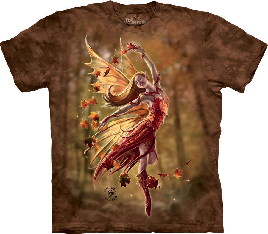 3D футболка The Mountain -  Autumn Fairy