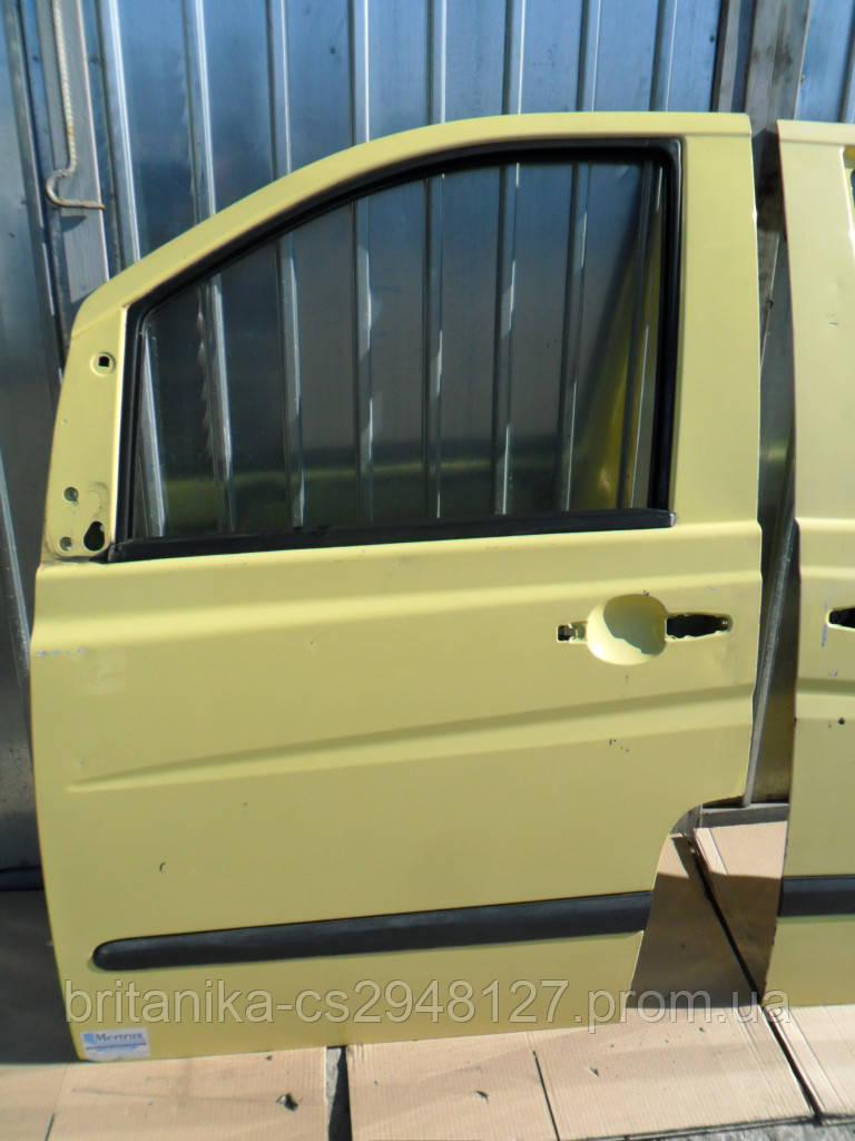 Дверь передняя левая Мерседес Вито 639 водительская бу Vito