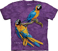 3D футболка The Mountain - Family Macaw