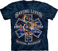 3D футболка The Mountain -  Saving Lives EMS