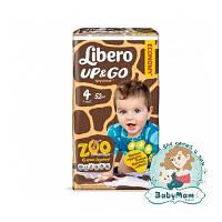 Подгузники-трусики Libero Up&Go 4 (7-11 кг), 52 шт
