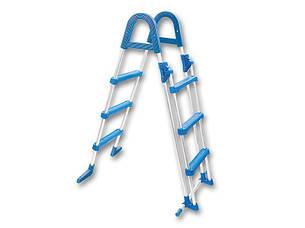 Лестница для бассейна Azuro Safety, нержавеющая сталь, фото 2