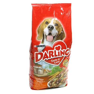 Сухой корм для собак Дарлинг курица 10кг. Пурина
