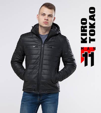 11 Kiro Tokao   Мужская демисезонная куртка 4115 черный