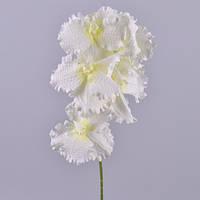 Орхидея белая Бабочка 90 см Цветы искусственные