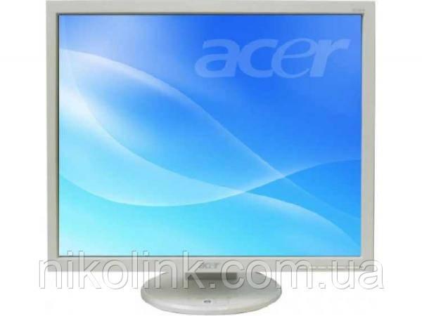 "Монитор 19"" Acer B193 (1280x1024),TFT TN, ( DVI/VGA/Audio), Class B, black, квадрат, комиссионный товар"